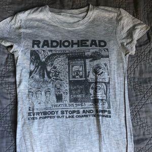 Radiohead tee